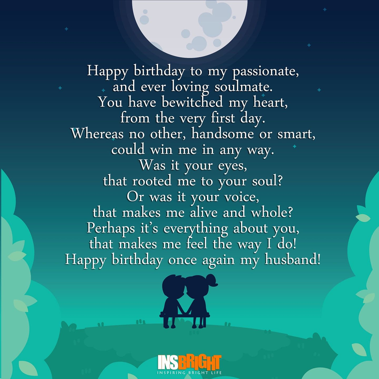 Pin by Tammy Guyach on Quotes Birthday poems for husband