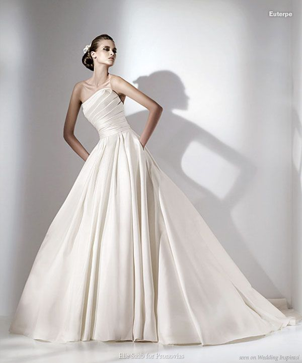 elieelie saab for pronovias 2010 wedding collection | wedding