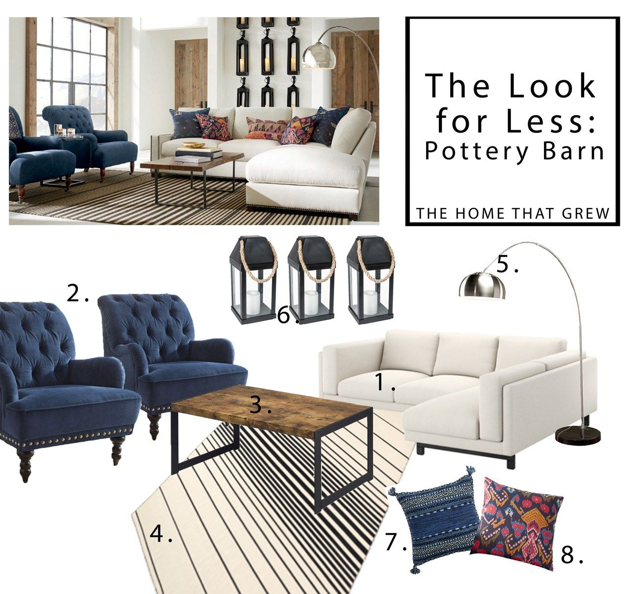 Get The Look For Less Pottery Barn Cheap Bedroom Furniture Pottery Barn Furniture Pottery Barn Look