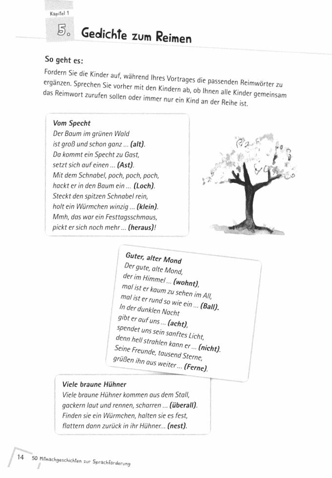 Eingerichtet, Worte ergänzen | Reime | Pinterest | Školka
