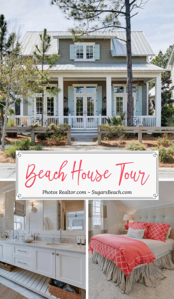 Wisteria Way Beach House Tour Coastal Decor Inspiration Beach House Tour Beach House Decor Beach Cottage Style