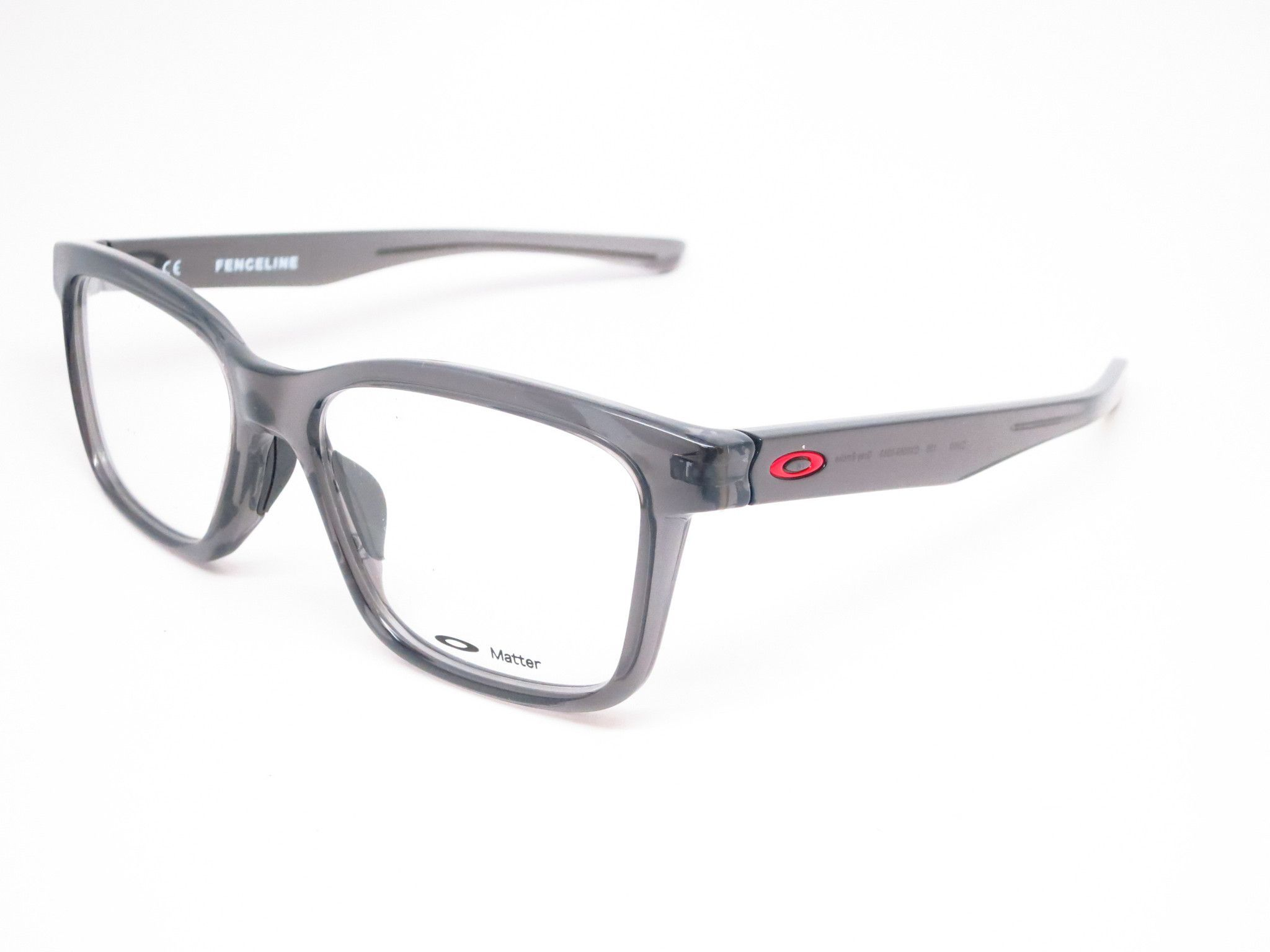 ae710a8520 Oakley Fenceline OX8069-0353 Grey Smoke Eyeglasses