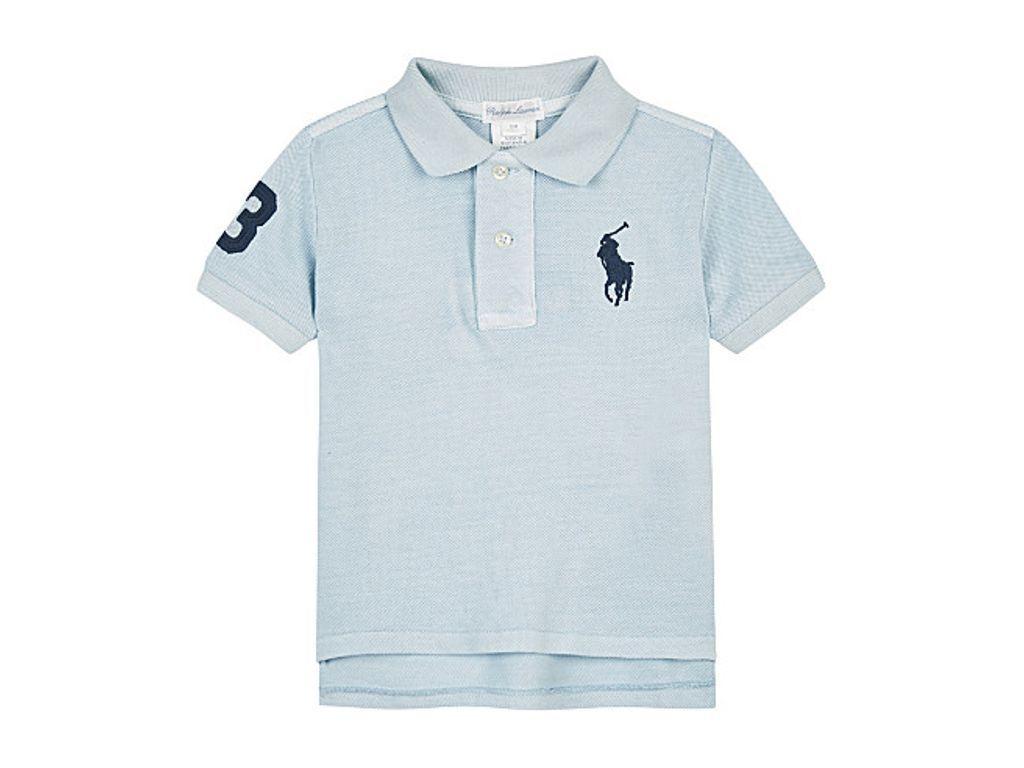 c95ee7834 RALPH LAUREN Big Pony cotton polo shirt 3-24 months