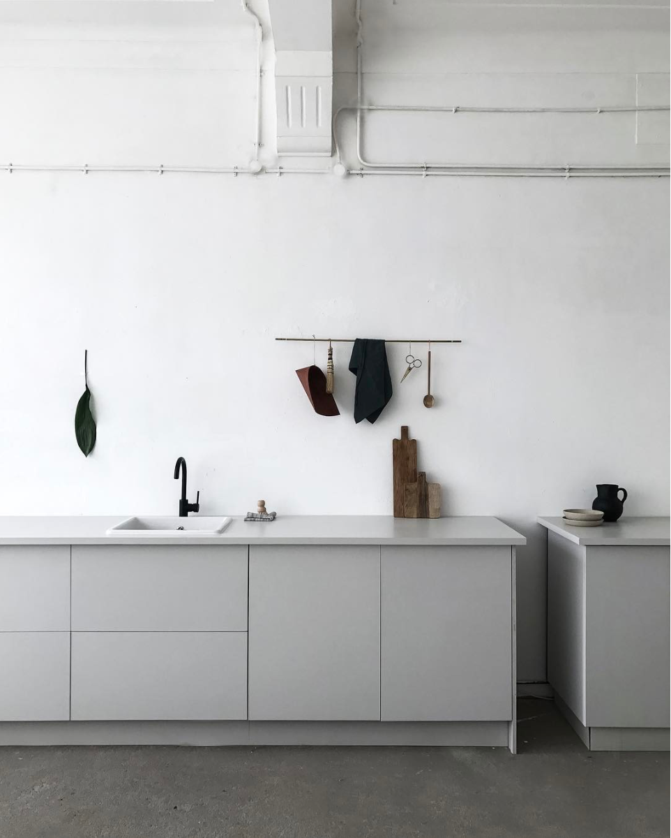 Hahn Küchen Aesence Minimal Kitchen Styling Grey Kitchen Ideas