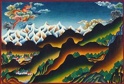 Image result for tibetan art