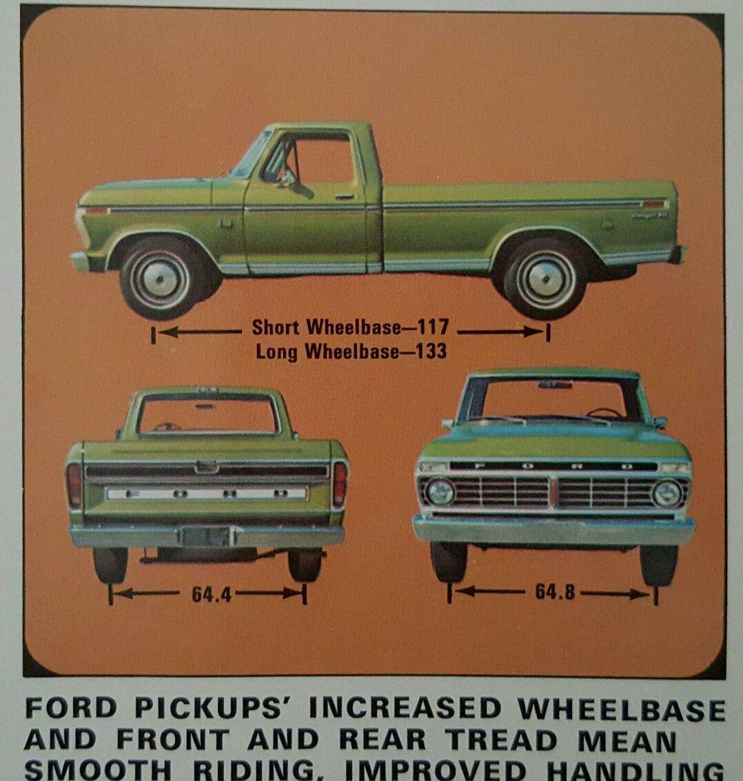 1973 Ford Pickup Truck Ford Pickup Ford Pickup Trucks Ford Trucks