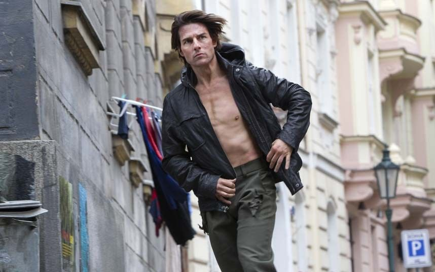 d8f3e5015c Tom Cruise filming on the set of Mission Impossible  Ghost Protocol
