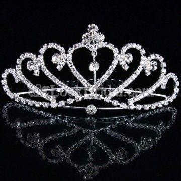 intage Style Alloy Wedding Bridal Tiara/Headpiece