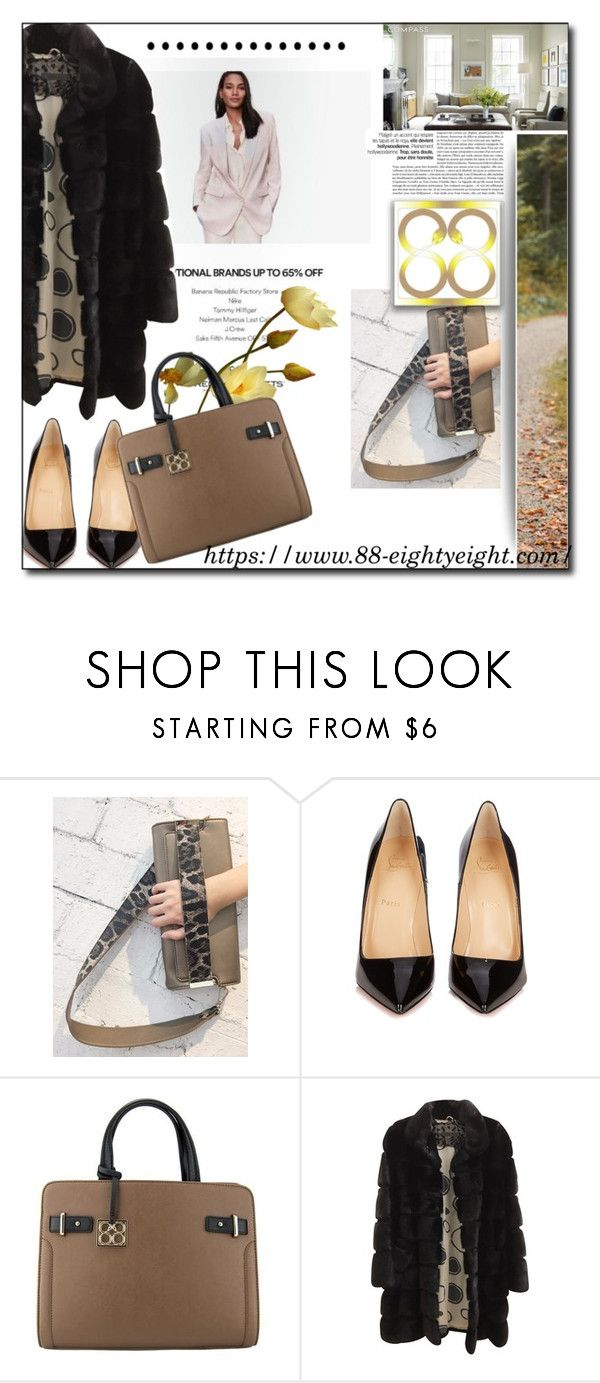 """""""Win bag of your choice from eightyeight-88!"""" by pal-0 ❤ liked on Polyvore featuring Christian Louboutin, Simonetta Ravizza, bag and eightyeight88"""