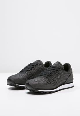 ab3edb87aa Armani Jeans Sneakers nero | Sneakers | Sneakers, Jeans, sneakers ...