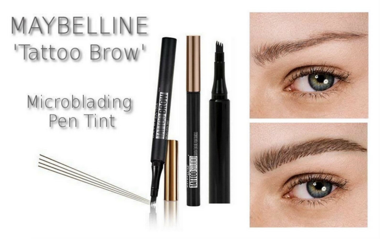 Maybelline TATTOO BROW Microblading Eyebrow Definer Micro