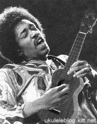 Jimi Hendrix Playing A Ukulele Ukulele Play Pinterest Guitars