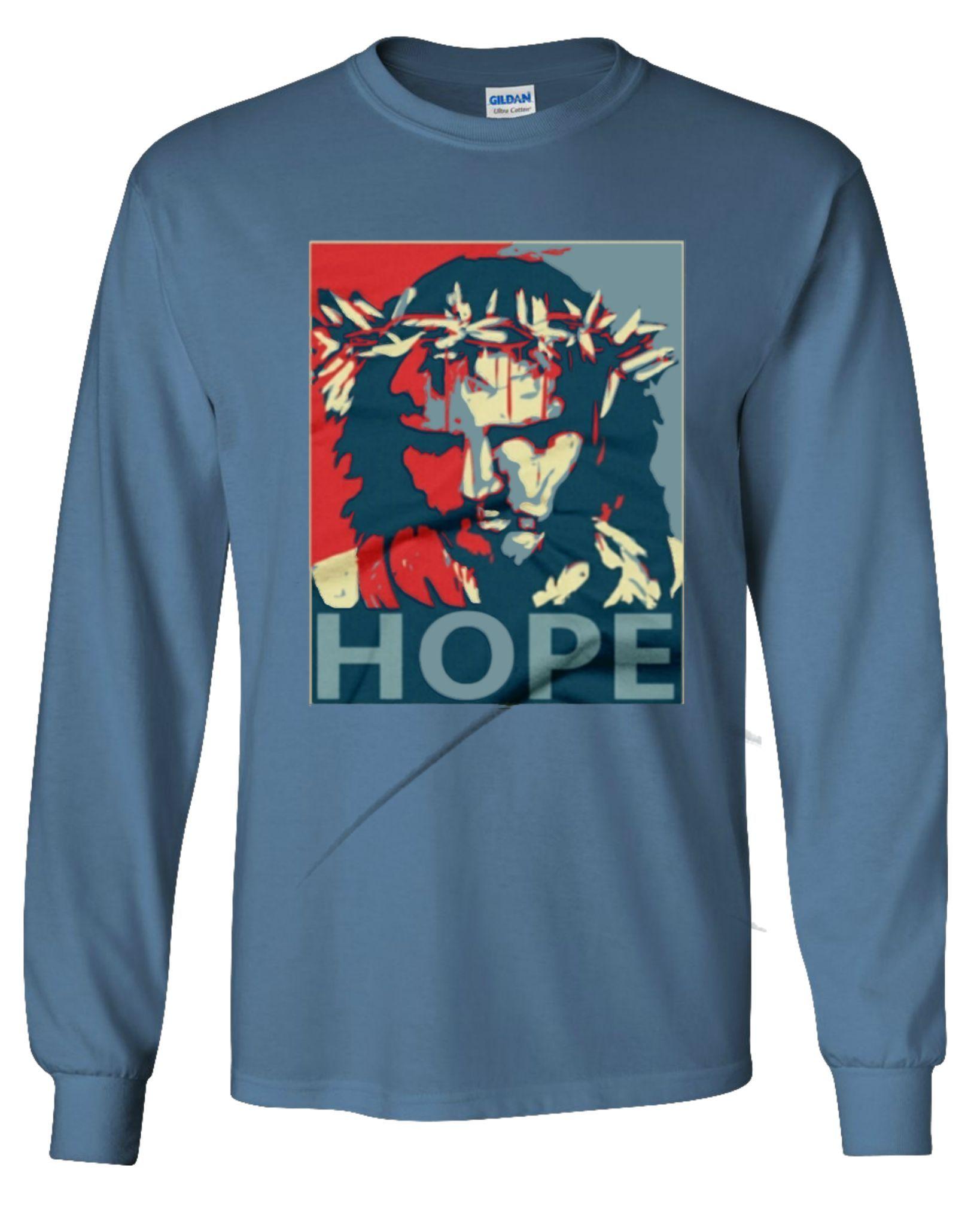 Long Sleeve Jesus Hope T