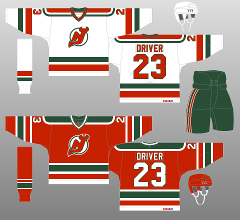 New Jersey Devils 1982-92 - When the team moved for the second time ... c8fec750f