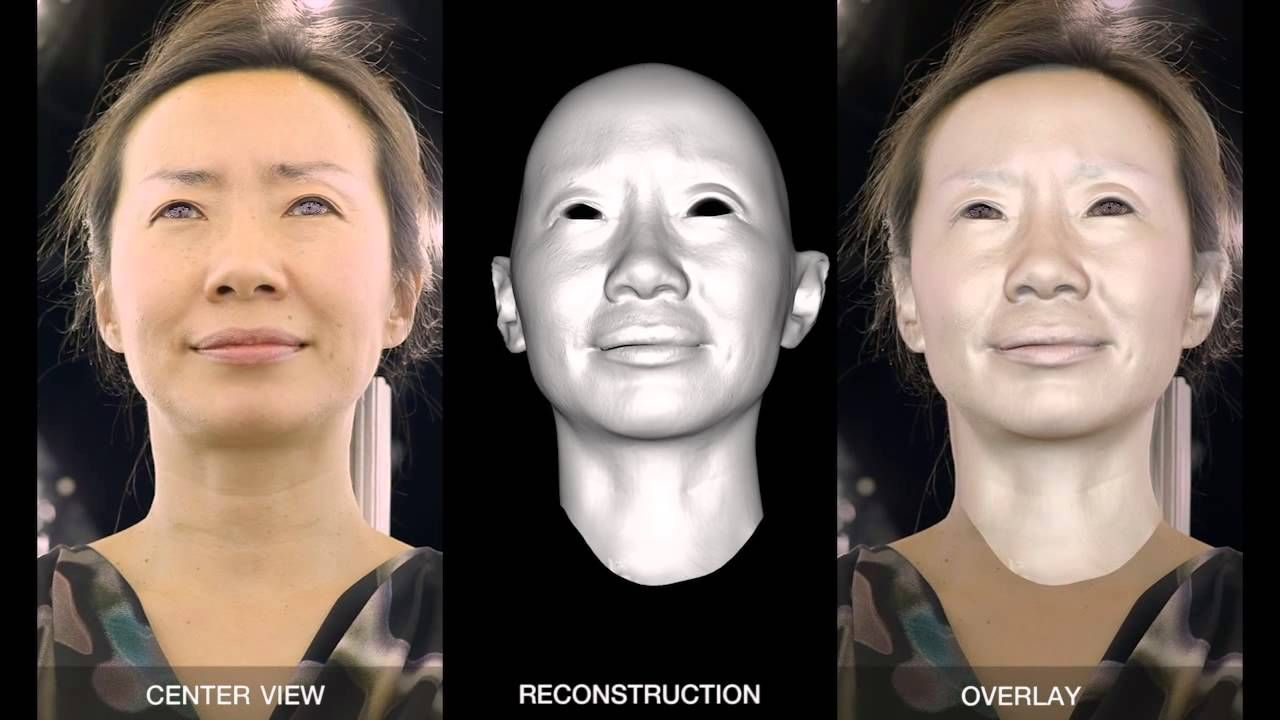 Driving High-Resolution Facial Scans with Video Performance