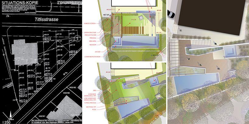 fletcher studio blend zurich biopool into an ecological oasis - designboom | architecture & design magazine