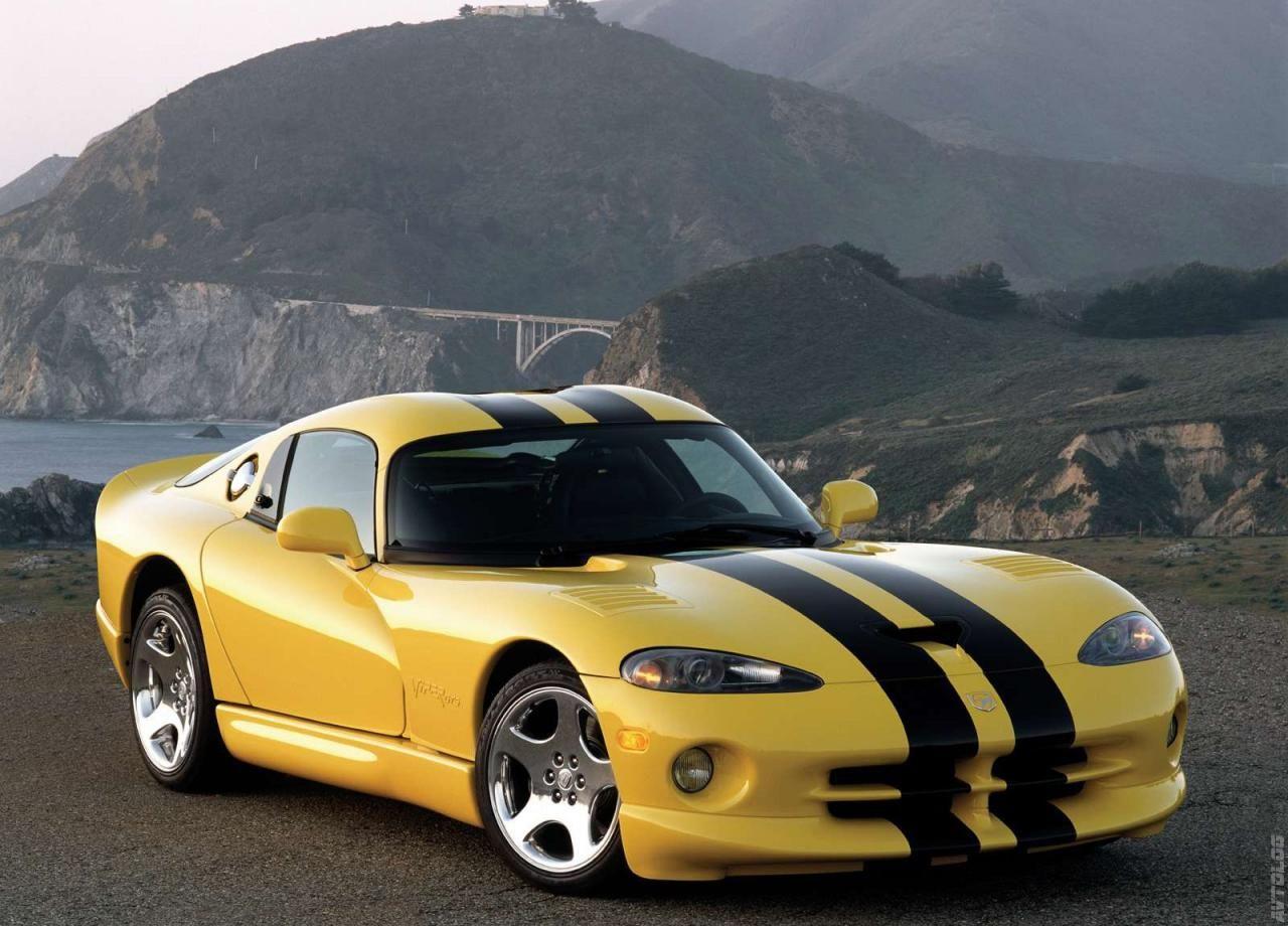 2001 dodge viper gts coupe