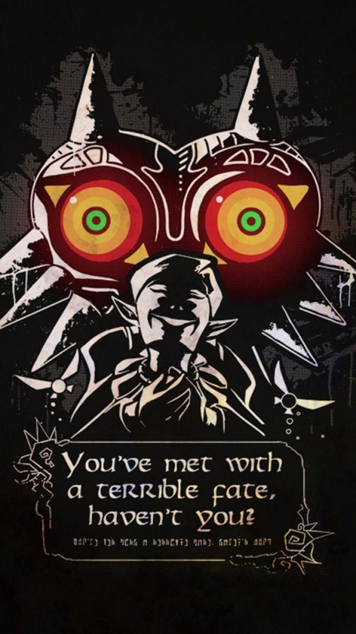 Zelda Mobile Wallpaper Legend Of Zelda Majoras Mask Link Art