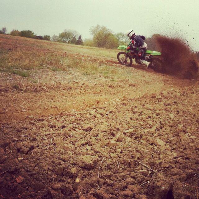 My boyfriend . Braaap motocross