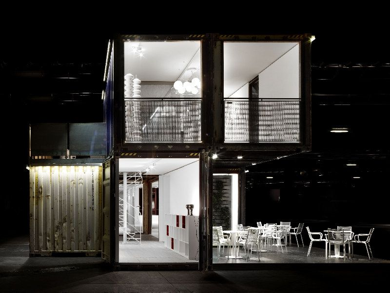 Architecture Design Kit prefab sustainable housing made from recycled shipping containers