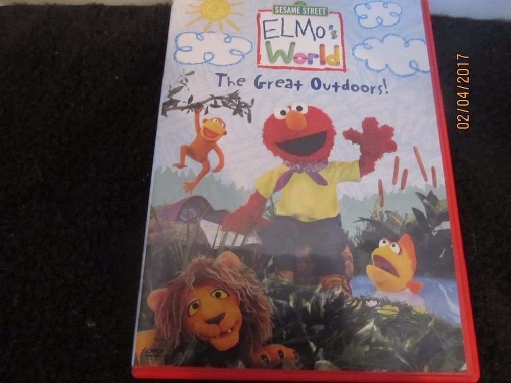 Sesame Street Dvd Elmos World The Great Outdoors
