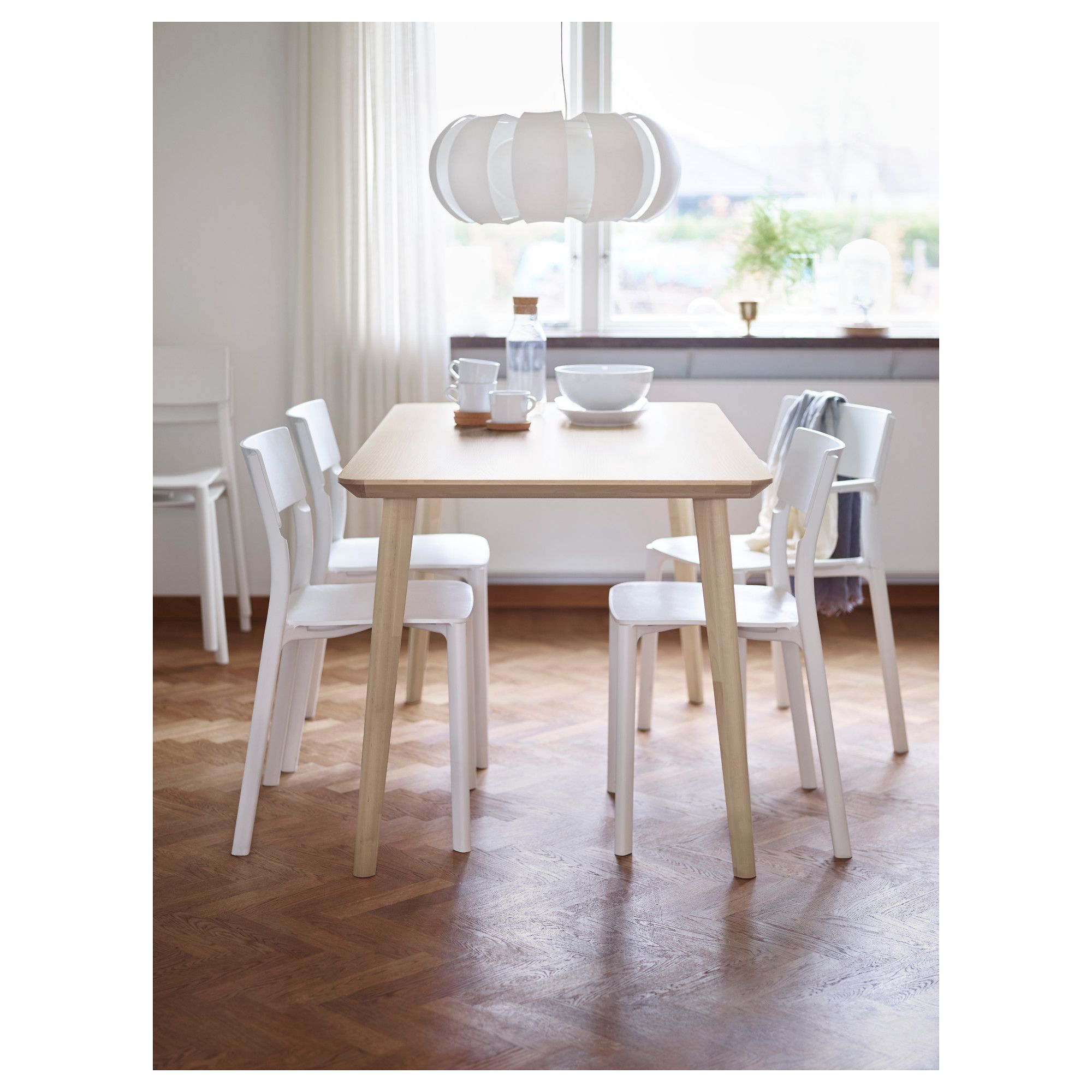 Magnificent Ikea Lisabo Table Ash Veneer Ikea Table Simple Download Free Architecture Designs Rallybritishbridgeorg