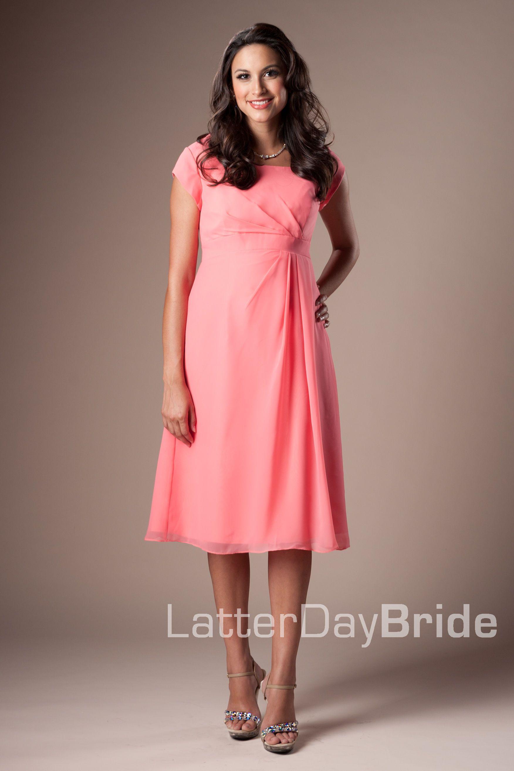 Bridesmaid & Prom, Afton   LatterDayBride & Prom Modest Mormon LDS ...