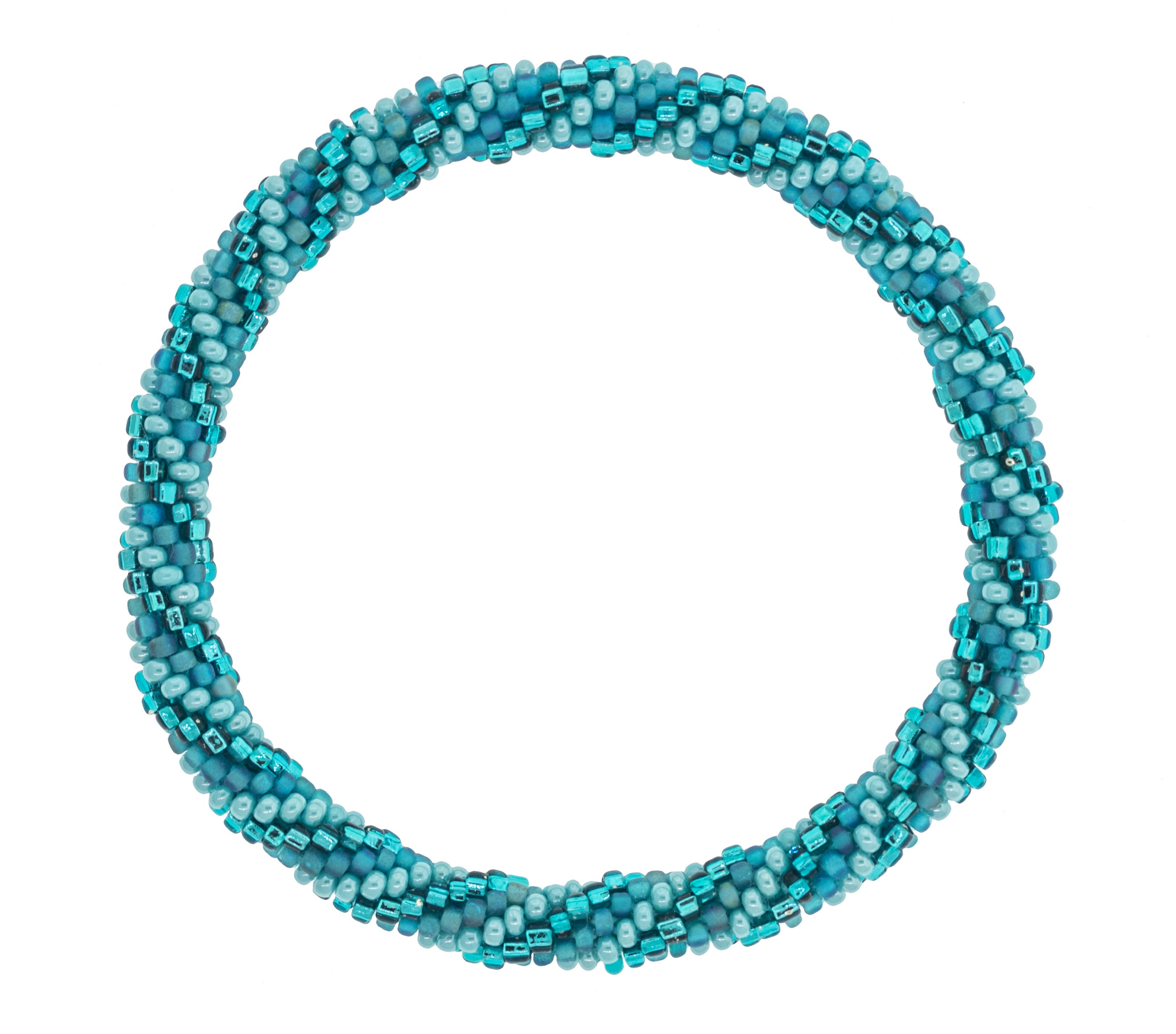 8 Quot Roll On Bracelet Vamos A La Playa Sustainable Jobs Women Artisans Bracelets
