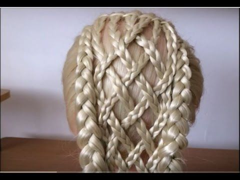 The Criss Cross Double Dutch Braid Hairstyle / Hair Tutorial / HairGlamour