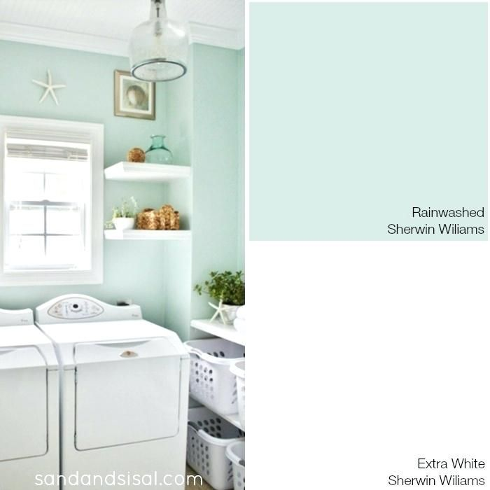 Sea Glass Paint Color Google Search Laundry Room