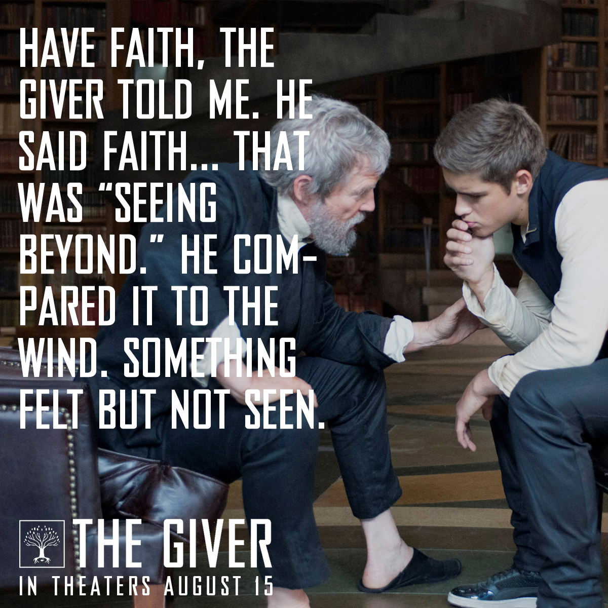 "The Giver Book Quotes Have Faith The Giver Told Me.""  The Giver Quotes  Pinterest ."