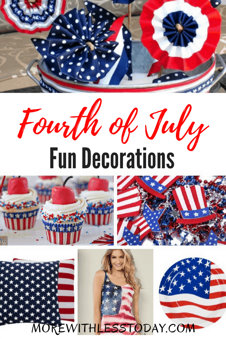 Fourth Of July Decorations Inexpensive And Fast Shipping In 2020 Patriotic Decorations 4th Of July Fourth Of July