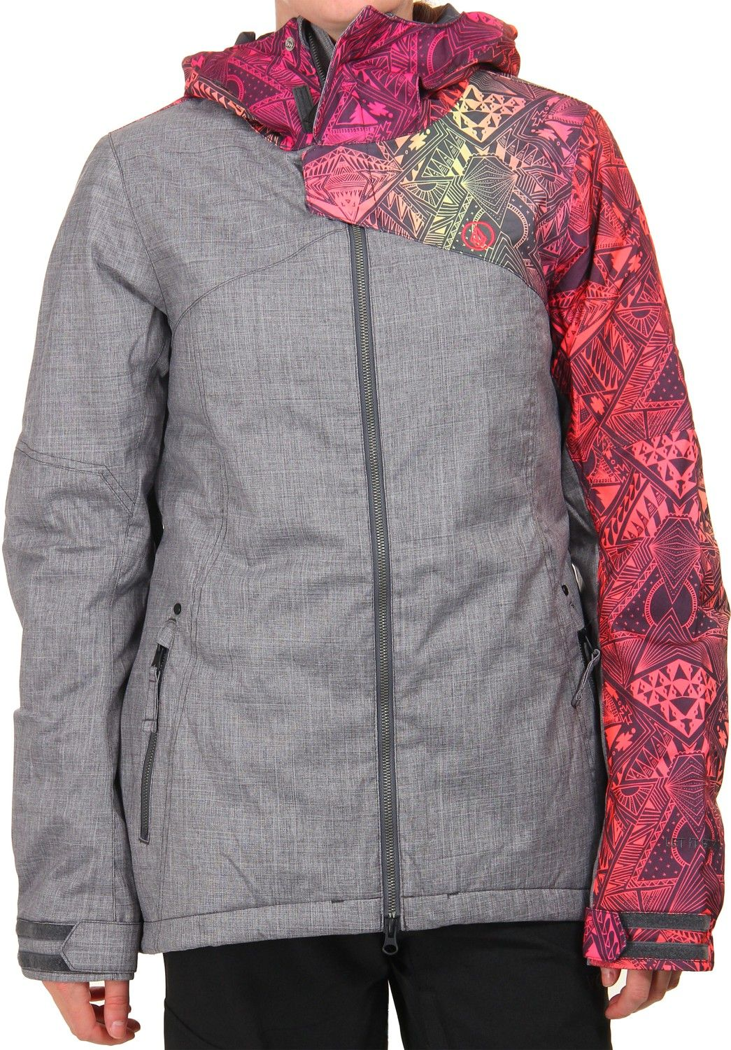 Brushed Nickel Love This Jacket Snowboarding Gear