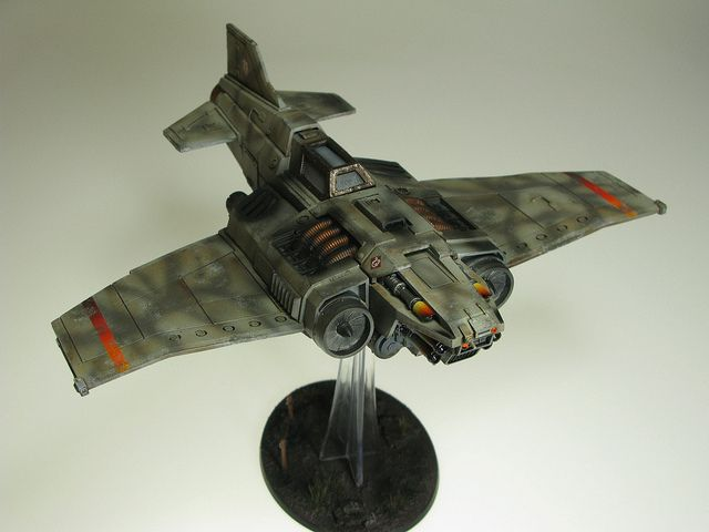 Death Korps Thunderbolt Fighter by T Markham