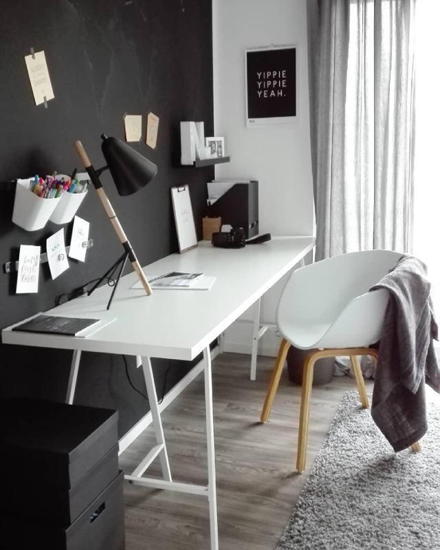 homeoffice mit viel platz zum basteln und kreativ w homeoffice einrichten pinterest. Black Bedroom Furniture Sets. Home Design Ideas