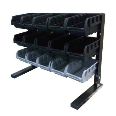 Husky Steel Storage Rack Black at The Home Depot - Tablet  sc 1 st  Pinterest & Husky 15-Compartment Steel Storage Rack Black-BR-15WF - The Home ...