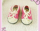 Crochet baby shoes infant sports shoes pink wide shoes for babies walking shoes NOT crochet shoes pattern(LS21)