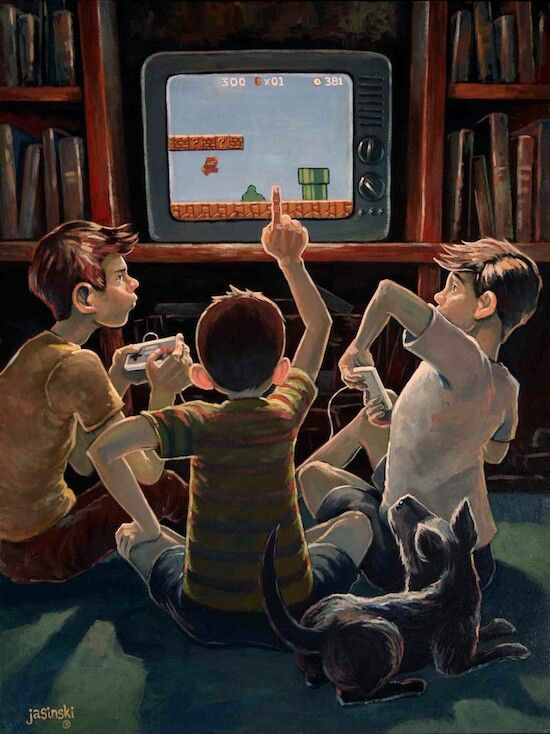 Artists Pay Tribute To Norman Rockwell Gamers Zone Video Game