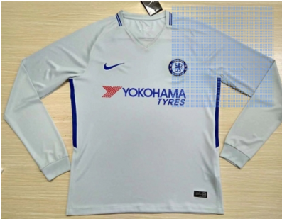 cesc fabregas 4 white away jersey authentic adult chelsea away grey white long sleeve fans version 201718