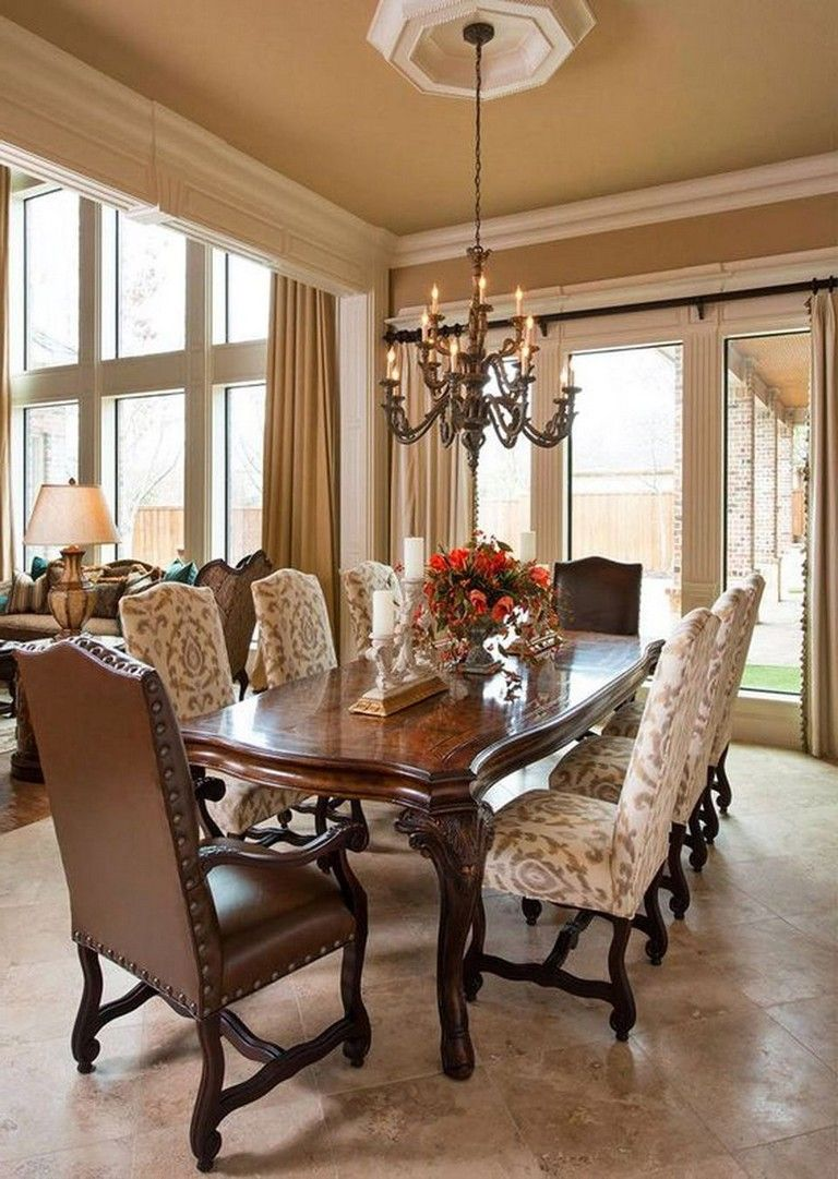 55 Celebrated And Luxury Western Dining Room Design Diningroom Diningroomideas Diningroomdecorating Luxury Dining Room Elegant Dining Room Luxury Dining