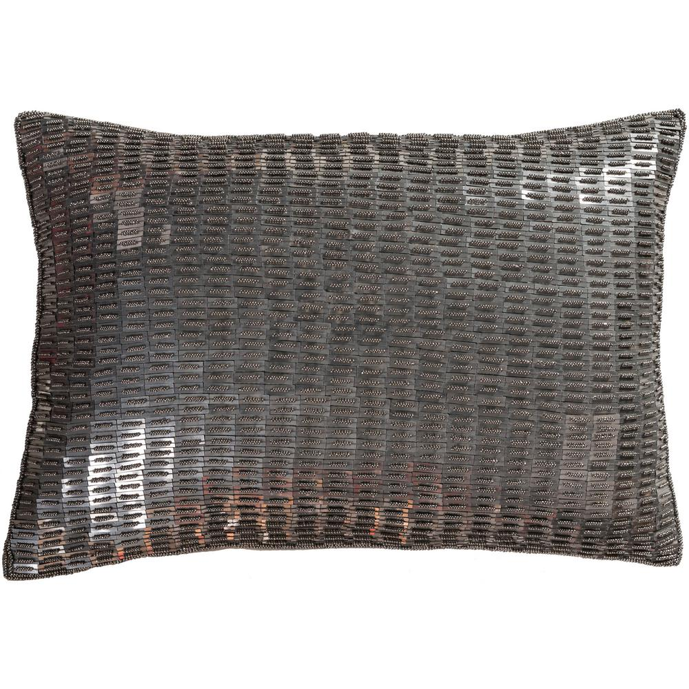 """Artistic Weavers Laramie Silver Solid Polyester 19 """"x 19"""" Cojín S00151097248 – The Home Depot"""