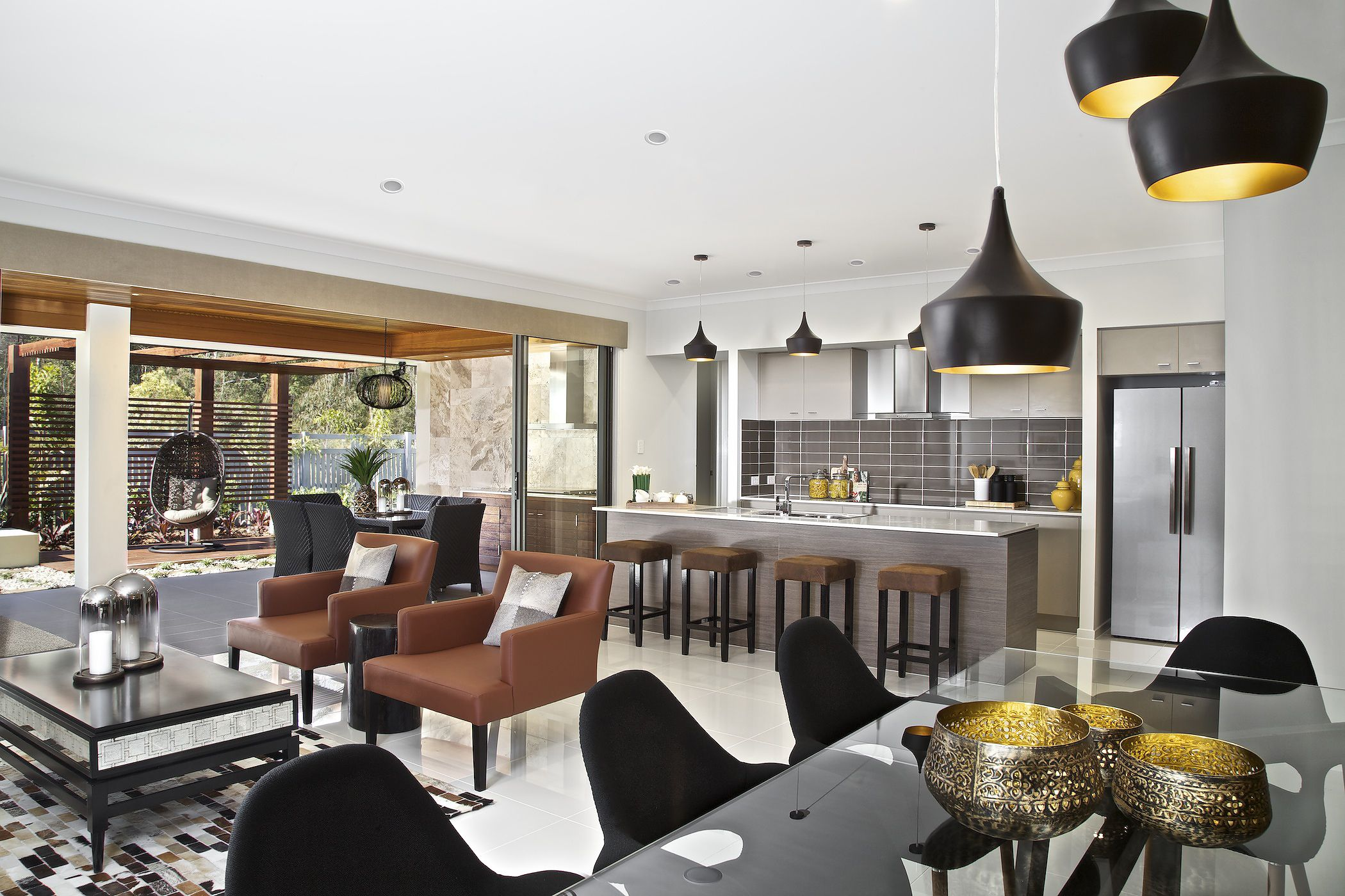 clarendon homes. killara 30. open plan living combining dining