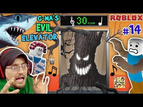 Roblox Grandma S Evil Elevator Not Normal W Shark Tornado