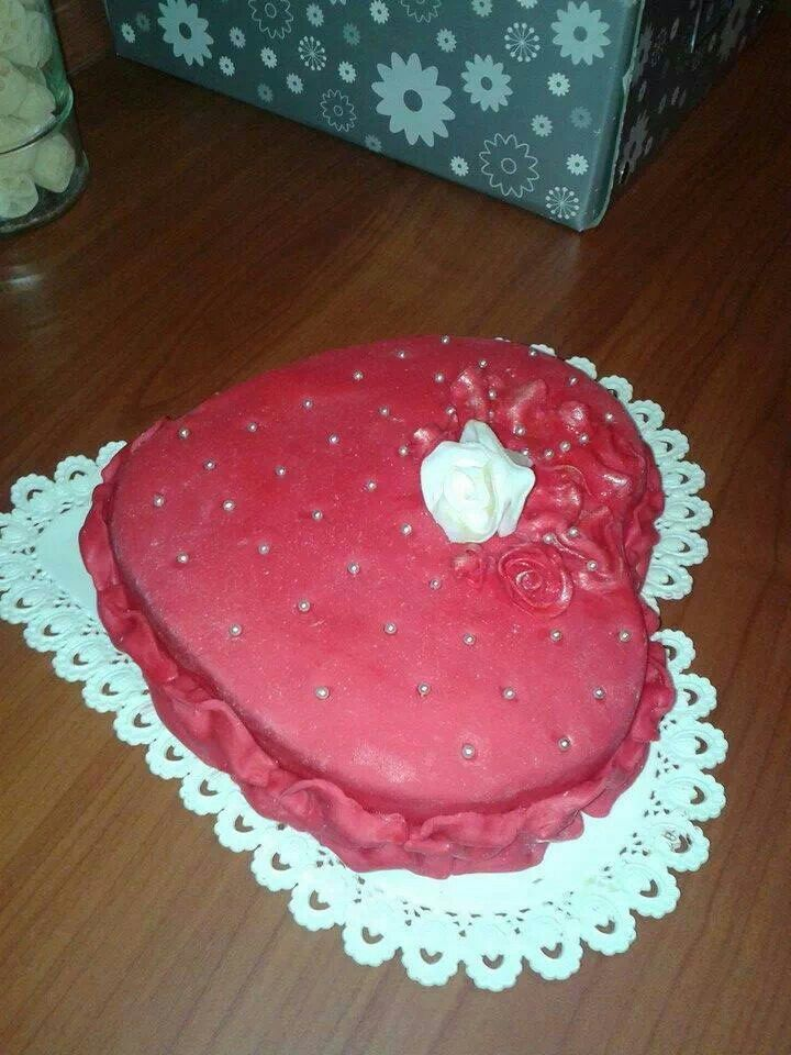 Torta cuore   Torte, Dolci