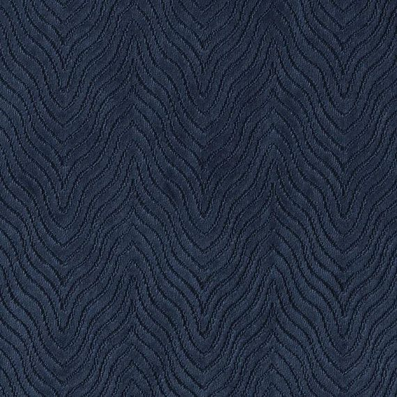 Navy Blue Velvet Upholstery Fabric