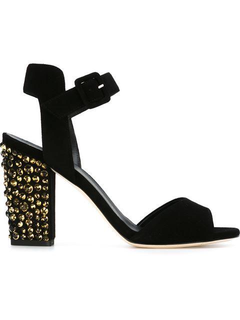 Giuseppe Zanotti Design ankle gladiator studded sandals - Black farfetch bianco eFiu1N