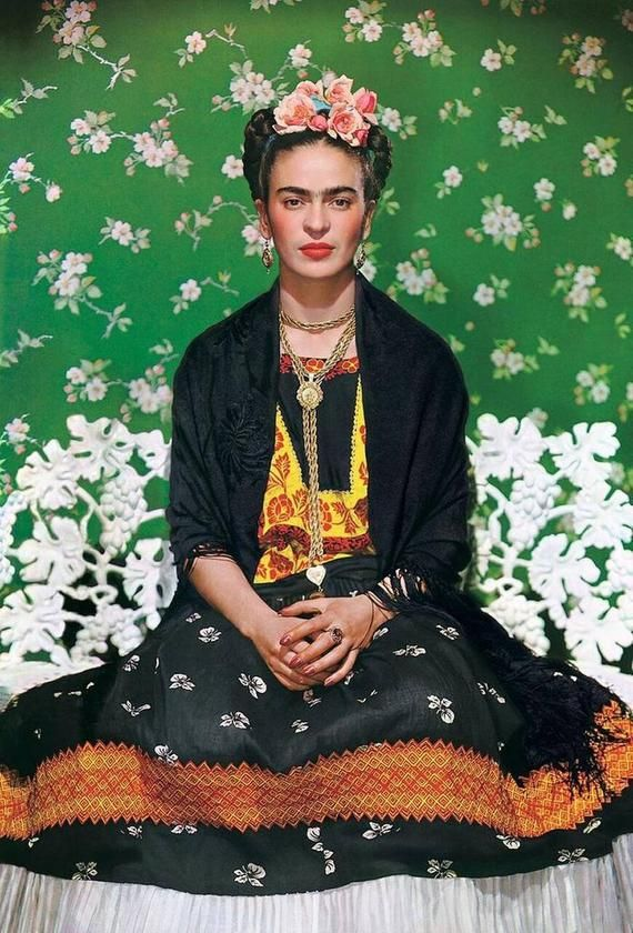 Frida Kahlo Poster Print b - Various Size's
