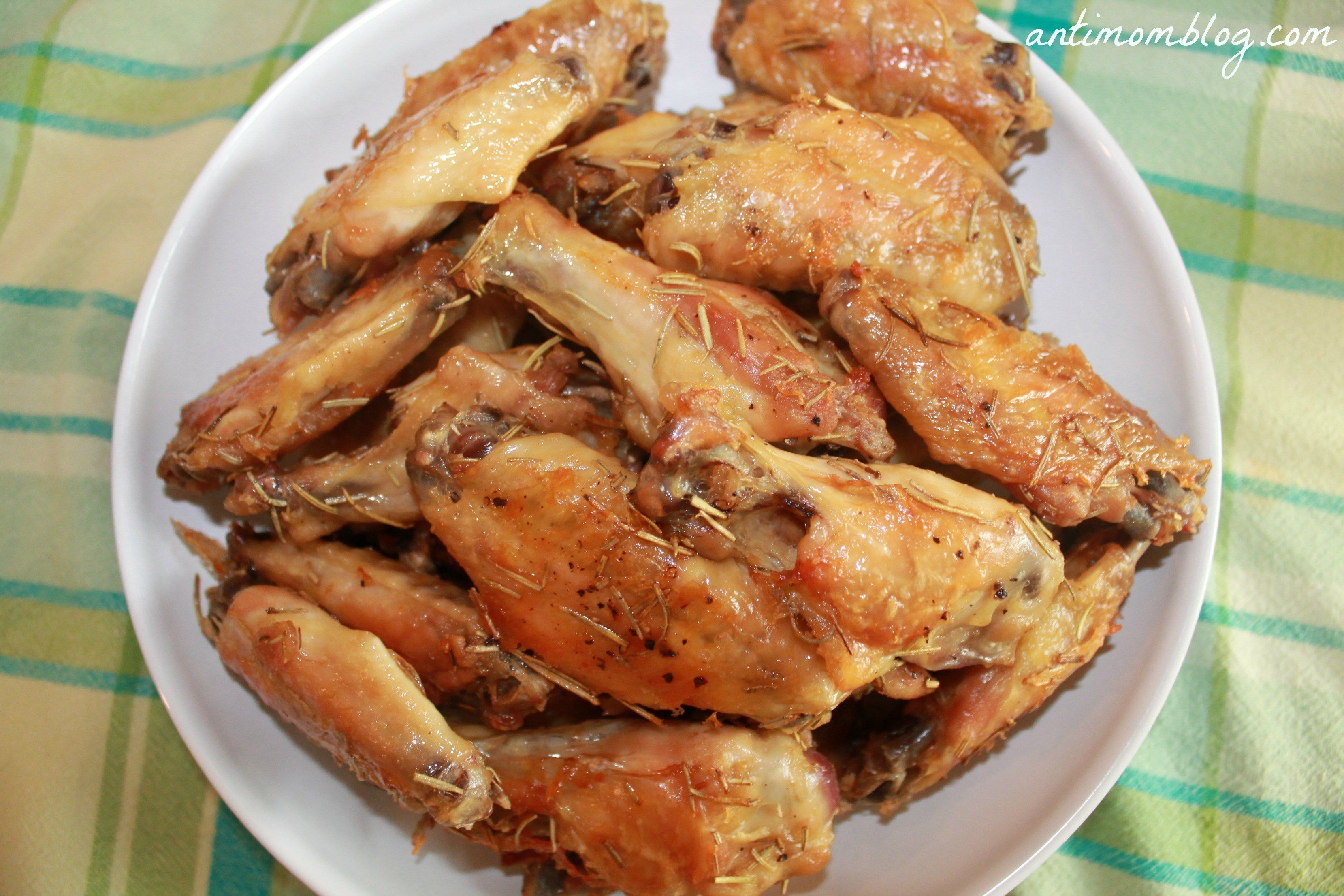 Restaurant Remake Anthony S Coal Fired Pizza Wings Recipe Crispy And Full Of Herbs That Is Baked Not Chicken Wing Recipes Wings Recipe Baked Chicken Recipes