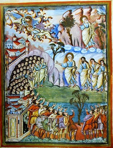 Bible Of San Paolo Fuori Le Mura Life Of Moses Christian Art Bible Art Painting