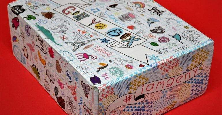 GEN YZ Box Reviews, October 2018 Box, Decorative boxes